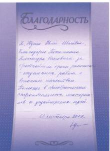 Юдина Нина Ивановна